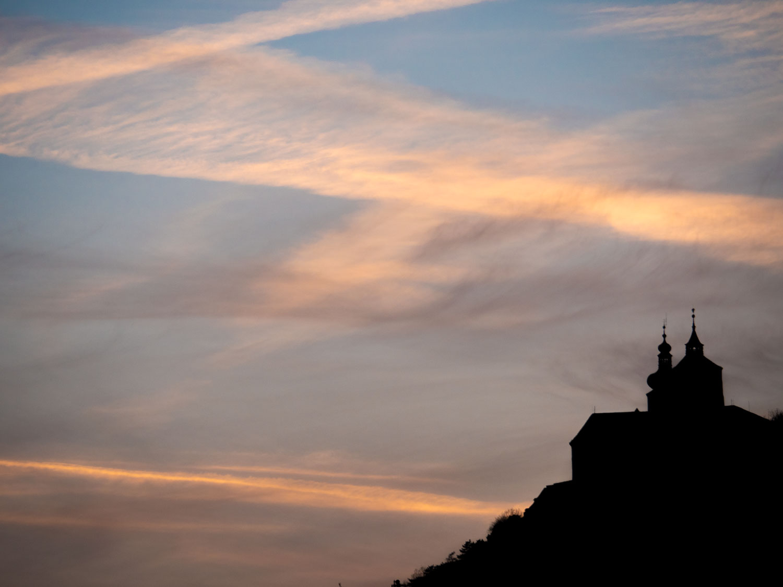 Burg Forchtenstein am Abend