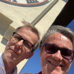 Gerald und Friedrich in Graz im Frühjahr 2019