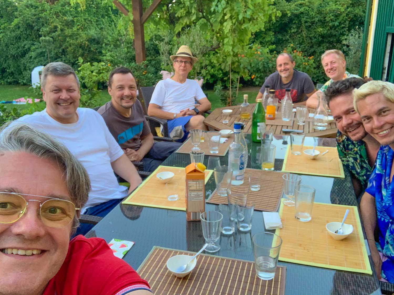 Freunde in Forchtenstein 2020